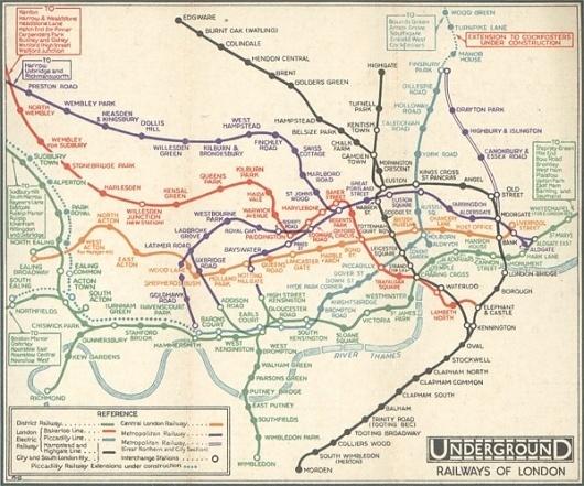 A Perfect Design? - Jamie Wieck - Design, Illustration & Creative Thinking #information #visualisation #london #design #subway #data #beck #maps