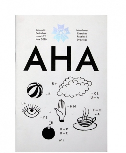 AHA | Hato Press / Bench.li #cover #icons #poster #symbols