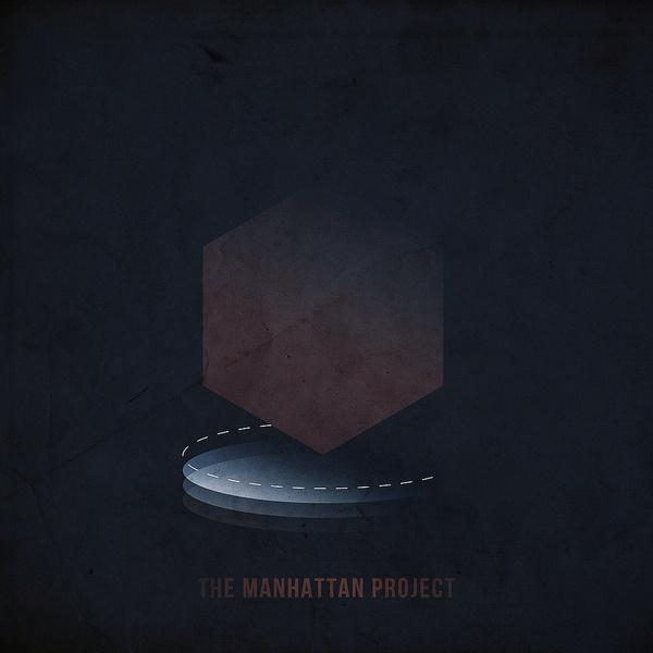 The Manhattan Project #hue #marsalis #uranium #print #publication #shape #mass #hexagon #trilogy #design #canon #book #research #science #geometrical #publish #artful #project #photography #delaselis #blue #graphic #manhattan #the #eason #atomic #square #circle #editorial