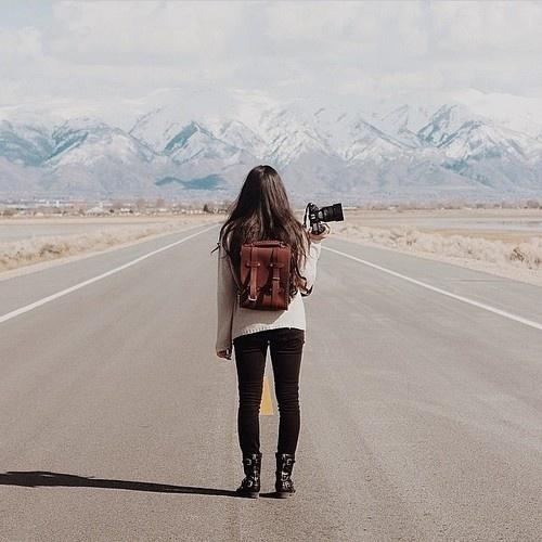 Likes | Tumblr #mountain #road #photography #girl