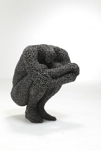 Naver Image Popup #human #form #chains #sculpture