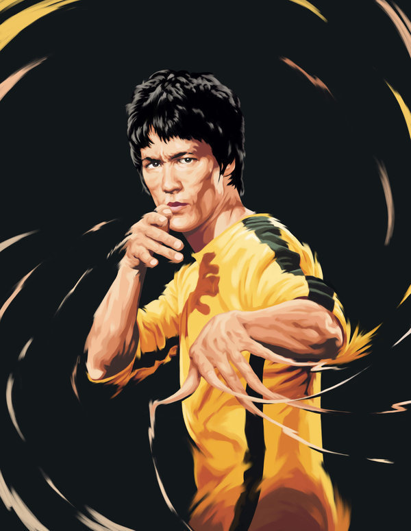 Bruce Lee #art