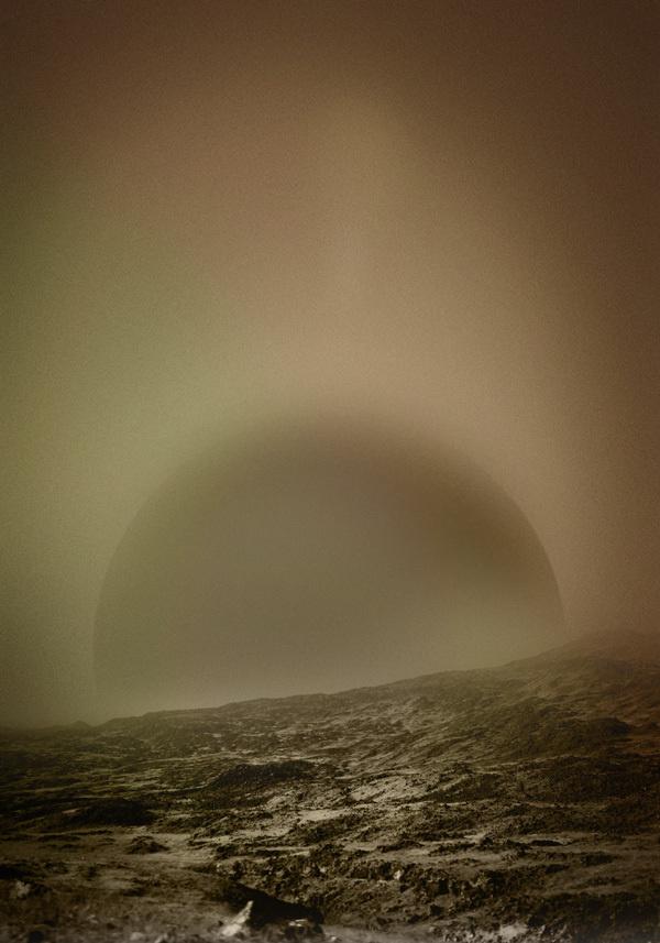 The Rise #print #palegrain #space #landscape #mars #lp #cover #photography #poster