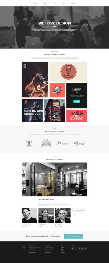 Portfolio #website #layout