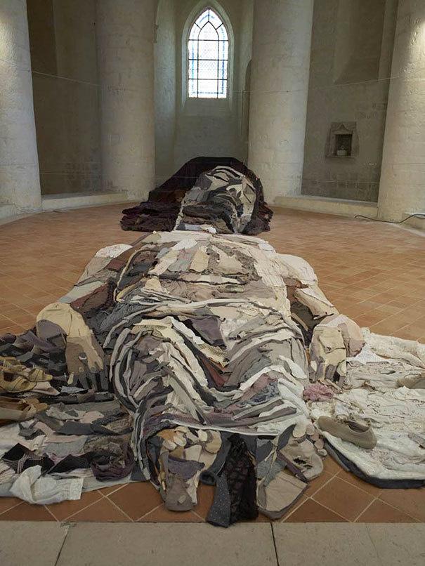 Assemblage installations by Bernard Pras #art