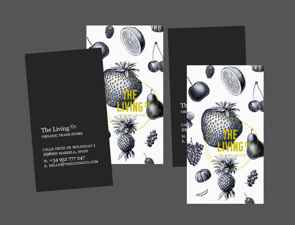 The Living Co. on the Behance Network #identity