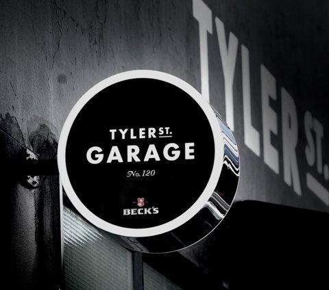 Tyler St. Garage #tyler #design #garage #branding