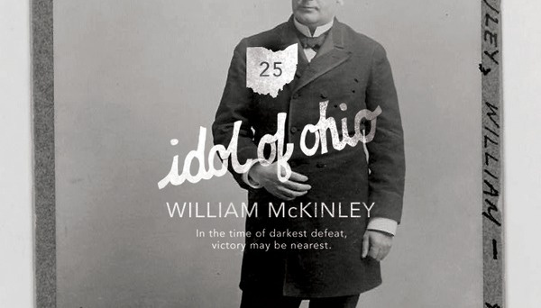 Twenty Fifth President: William McKinley (1897 1901) Hand drawn type #presidents #branding #design #photography #layout #typography