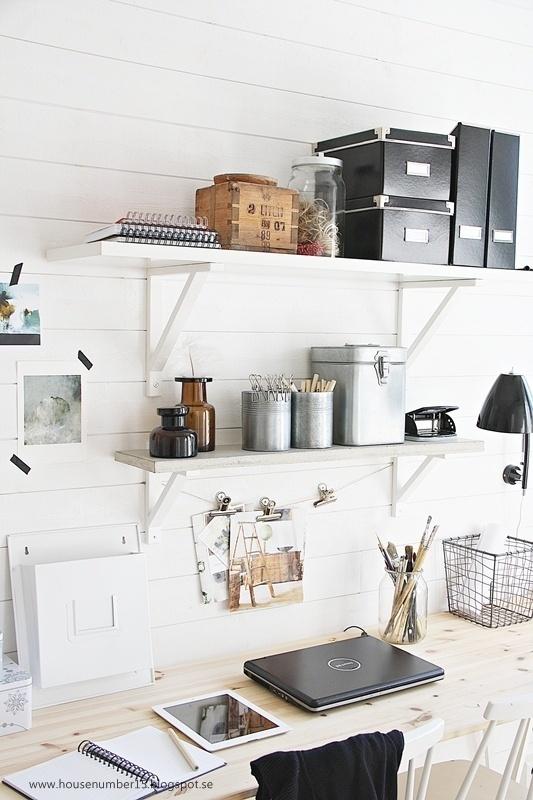 House number 15: Min arbetshörna… office space #home office #workspace #desk