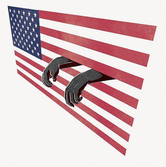 America, graphic design, red, white, blue