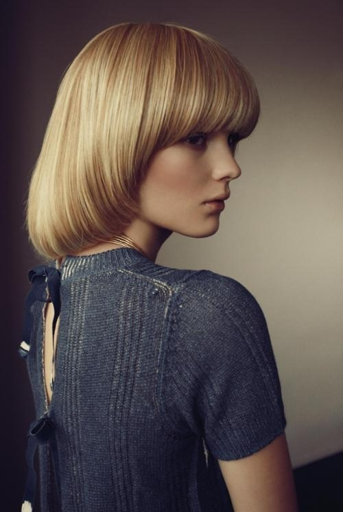 Fashion photography (Model: Clara Zapffe   Photographer: Dennis Stenild 'Stille Forårsdag' for Eurowoman, March 2011  viaalamodel #fashion #hair