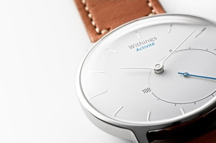 This smart watch Withings Activité is compatible with iOS/Android, and offers a range of fitness tracking capabilities with a classic yet m #modern #design #product #watch #wrist
