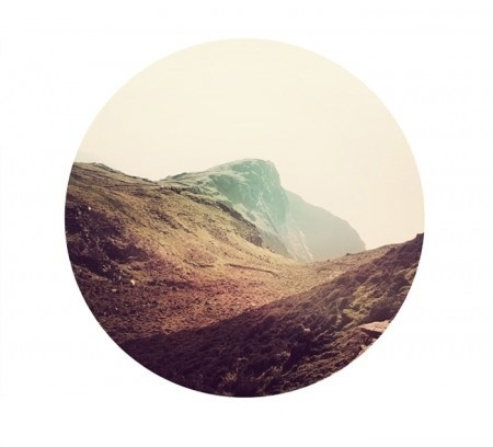 ISO50 Blog – The Blog of Scott Hansen (Tycho / ISO50) » The blog of Scott Hansen (aka ISO50 / Tycho) #circle #cliff #landscape