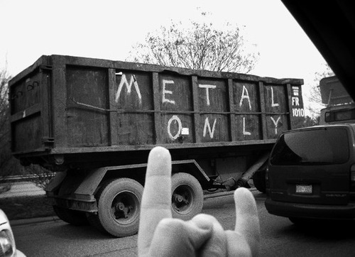 Metal Only #truck #photo #metal