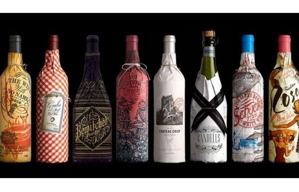 Stranger #packaging #bottles #wine