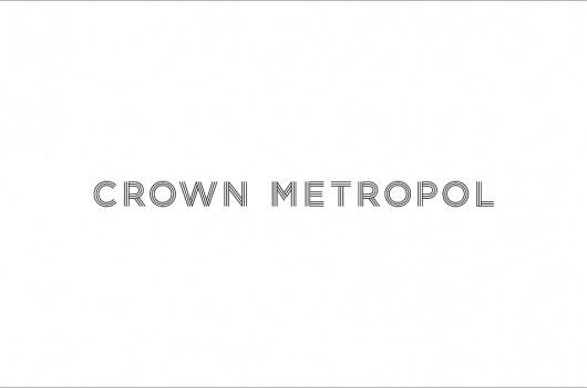 News/Recent - Fabio Ongarato Design   Crown Metropol #logo #branding