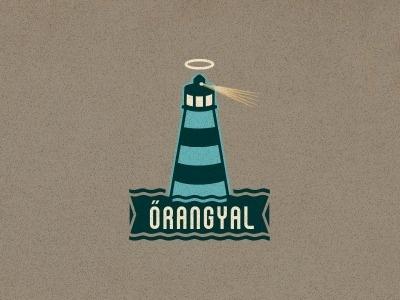 Dribbble - Őrangyal (Guardian angel) by szende brassai #logo #lighthouse #branding