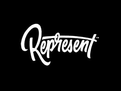 Represent #lettering #script #shapiro #brush #sergey