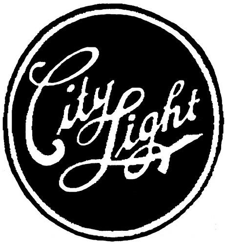 Typeverything.com -City light. (ViaCaptain... - Typeverything #circle #lettering #white #black #ligatures #type #typography
