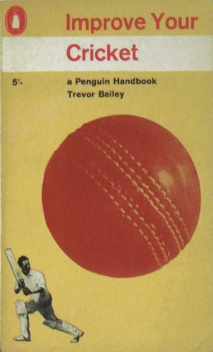 Penguin Books - Improve Your Cricket #covers