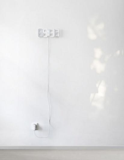swissmiss #clock #white #digital