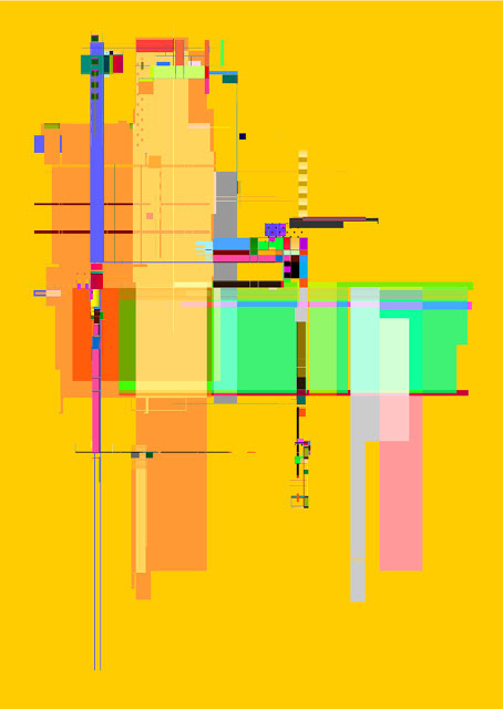 Machine No 2 by Jim Keaton at SOTA #graphic #illustration #architecture #poster #art
