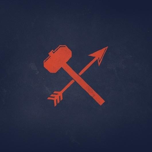 original.jpg 800×800 pixels #branding #illustration #arrow #hammer #personal