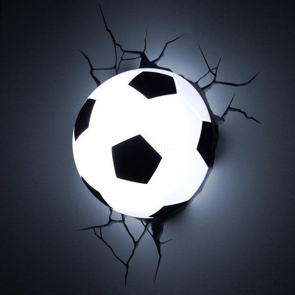 Soccer Ball 3D Deco Light #tech #gadget #ideas #gift #cool