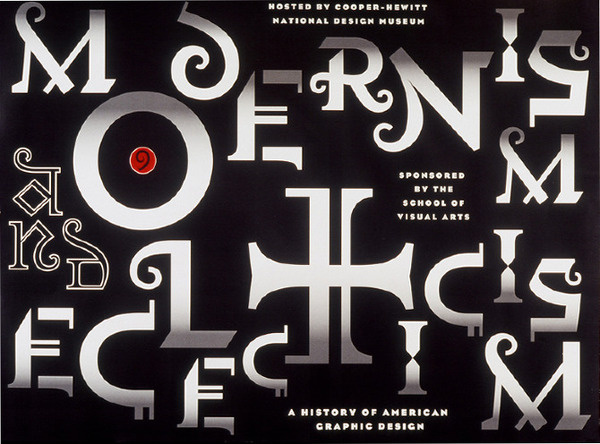 School of Visual Arts Gail Anderson #poster #typography
