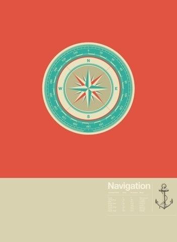 FFFFOUND! | Astronaut #compass #red #nautical