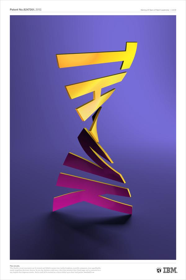 All sizes | Flex circuits | Flickr - Photo Sharing! #cgi #design #ibm #poster #typography