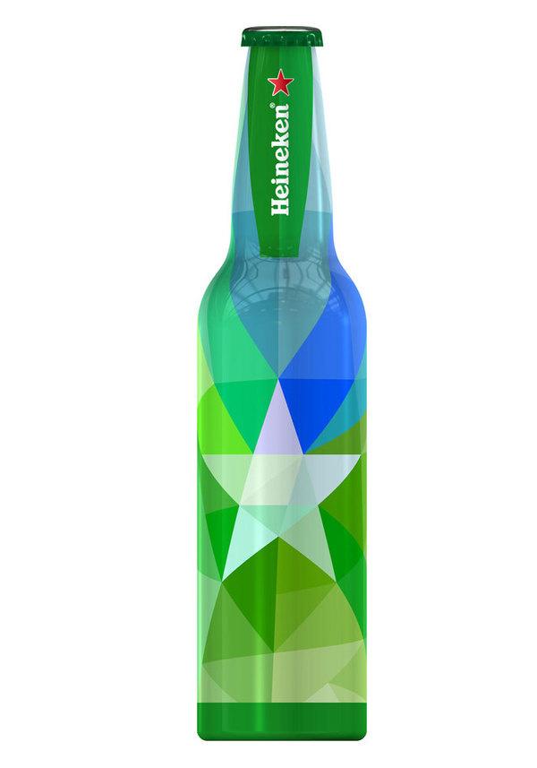 Heineken Reveals Winner of Your Future Bottle 'Remix'Challenge The Dieline #packaging #beer