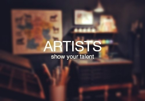 ARTISTS #logo #talent #typo #art