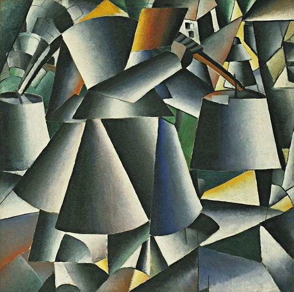 Kasimir Malevich, Woman with Pails