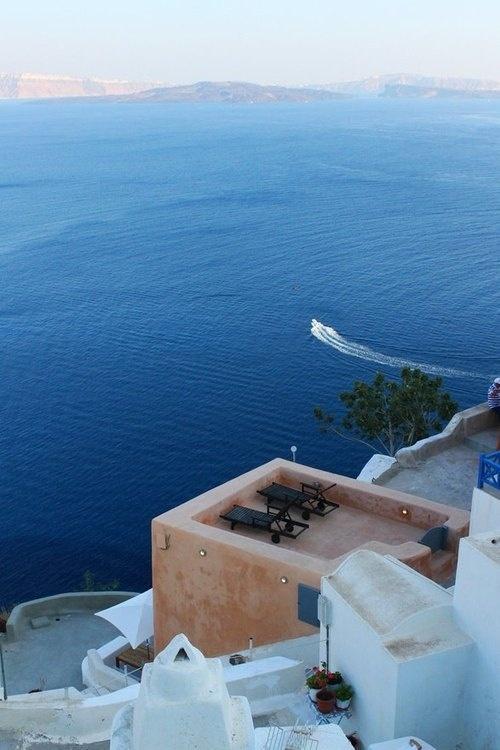 CJWHO ™ (Santorini, Greece Santorini (Greek: Σαντορίνη,...) #ocean #santorini #landscape #photography #greece