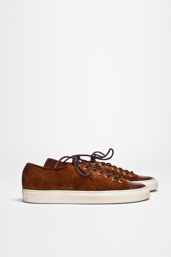 Buttero Tanino Low Suede Brown | TRÈS BIEN #shoes #italian #sneakers #leather #buttero