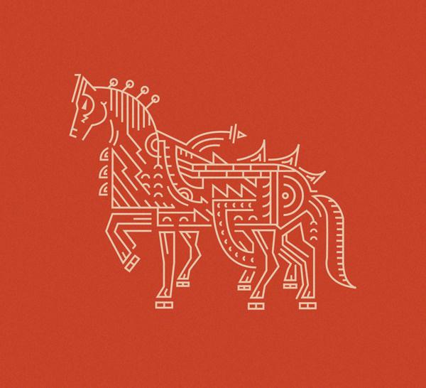 Sleipnir on Behance #horse