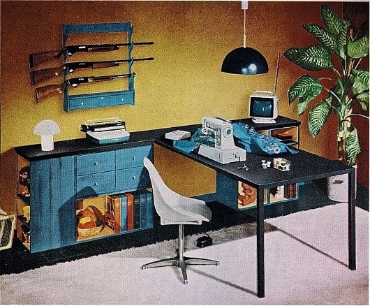 WANKEN - The Blog of Shelby White » Mid-Century Interior Design Flashback #interior #vintage