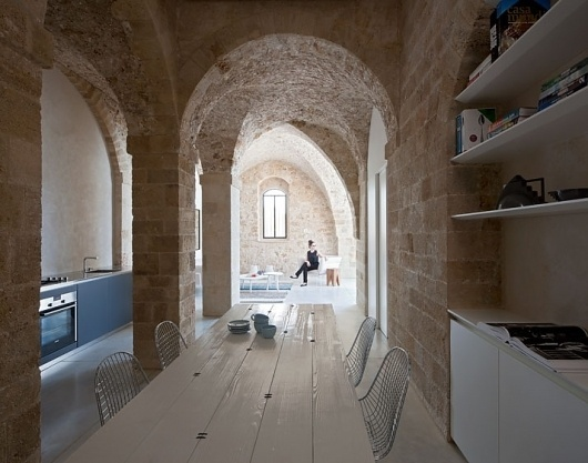 Contemporary Minimalism Meets Historical Asceticism in Old Jaffa, Tel-Aviv | Yatzer™ #eclectic #interrios #contemporary
