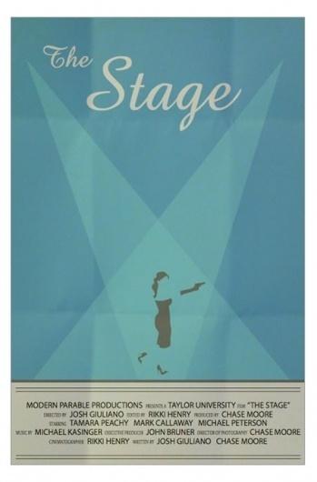 The Stage - Art Is War - by Jacob Fulton #movie #stage #gun #print #design #jacob #fulton #minimal #poster #art #heels #minimalist #dress