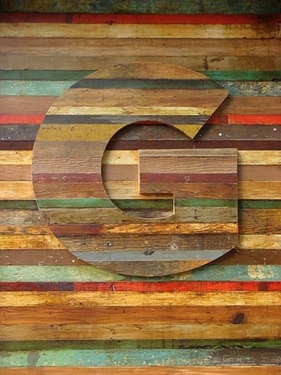 H&FJ News | Hoefler & Frere-Jones #lettering #coloured #letter #wood #type #typography