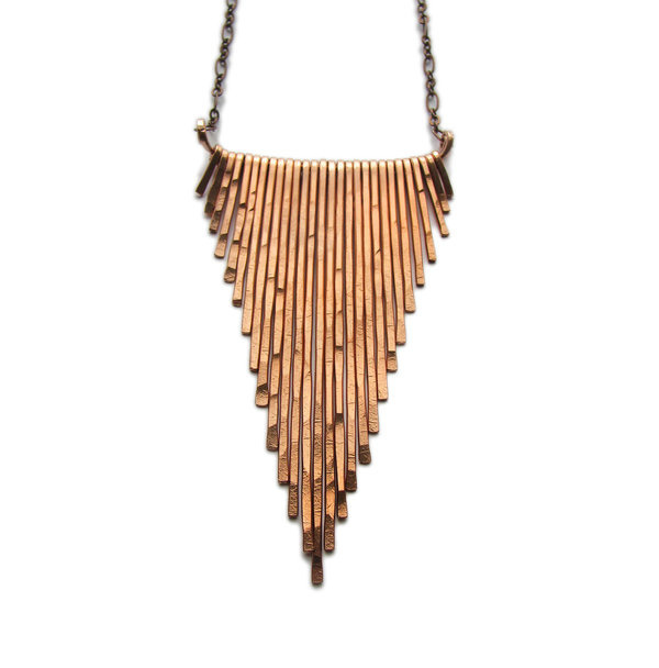 Copper Necklace #jewelry #necklace