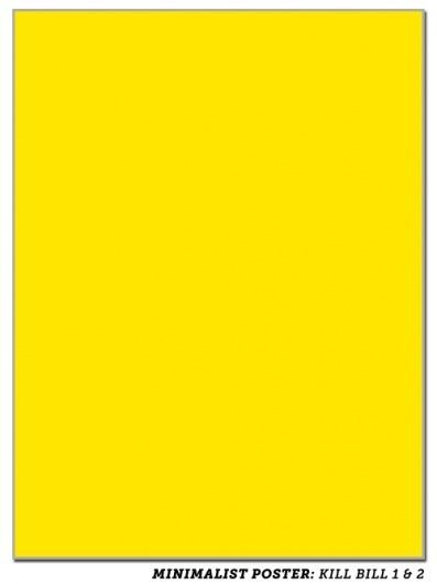 Super-Minimalist Movie Posters | Slacktory | This seems legit. #movie #yellow #extreme #posters #minimalist