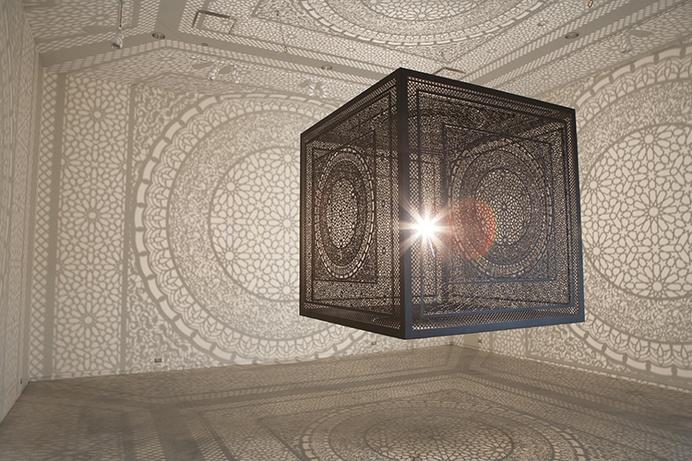 Intersections by Anila Quayyum Agha - www.homeworlddesign.com (2) #ideas #design #inspiration #art