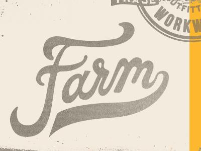 It's a Farm Day! #apparel #design #shirt #custom #typography