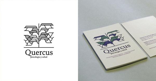 Quercus #modular #business #center #card #simple #identity #logo #layout #align