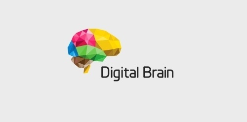 Digital Brain « LogoMoose – Logo design community and inspiration gallery