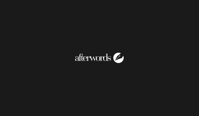 Afterwords Logo on Behance