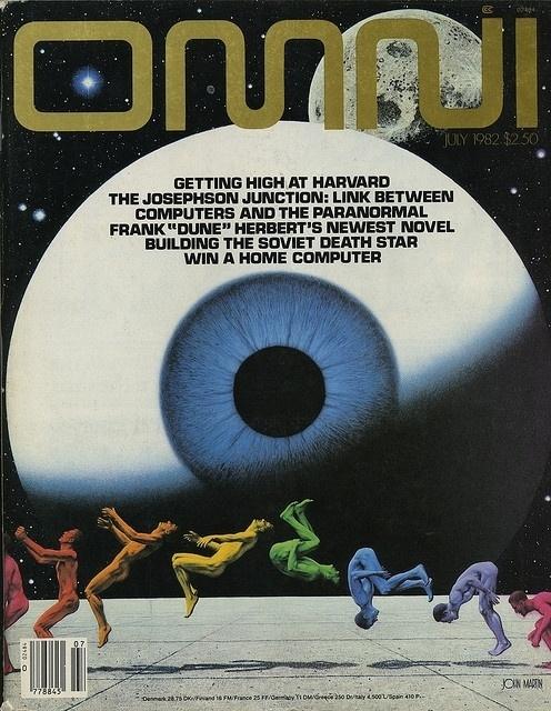 Flickriver: Photoset 'Omni Magazine' by Eric Carl #fiction #sci #fi #omni #80s #science #magazine