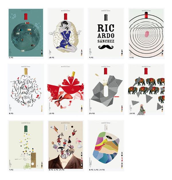 Wine Posters #design #graphic #wine #poster #graphics
